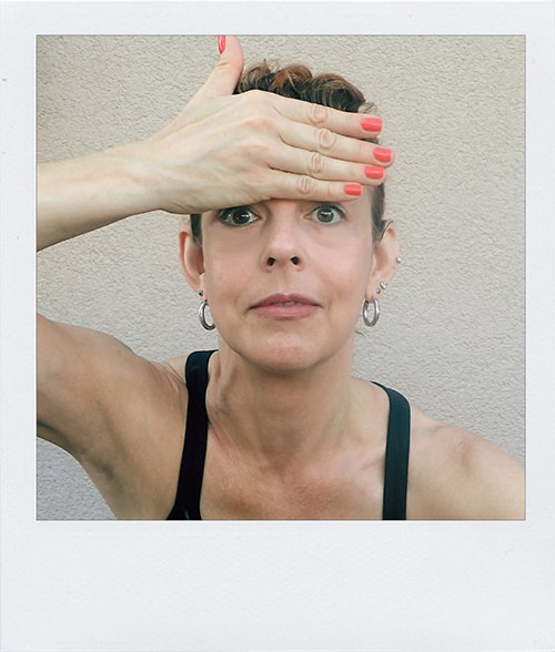 Face Yoga Example Pose