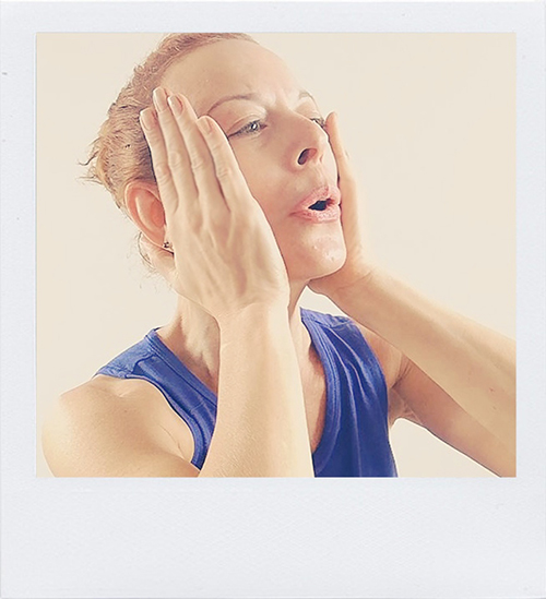 Face Yoga Example Session